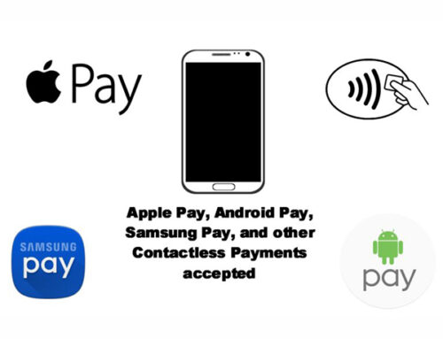 Contactless Payment Options Now Available